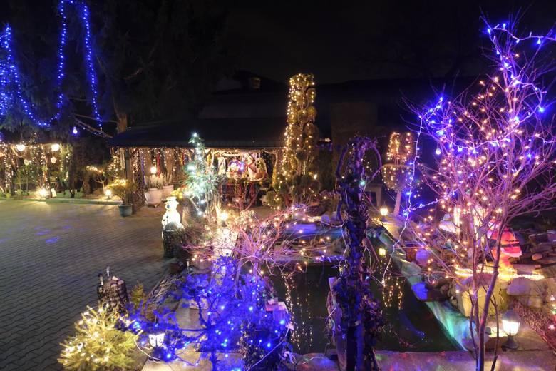 Najbardziej rozświetlony dom na Śląsku jest w Przyszowicach. To dzieło Mariana Smolki