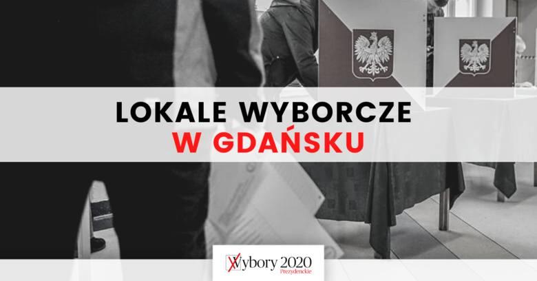 Wybory prezydenckie 2020. Gdzie w Gdańsku można oddać głos? Na kolejnych slajdach znajduje się spis ulic z przyporządkowanymi im lokalami wyborczymi.