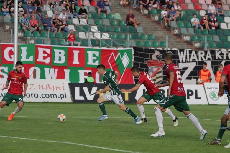 W poprzednim meczu na Stadionie Ludowym Zagłębie przegrało z Olimpią Grudziądz 0:1.