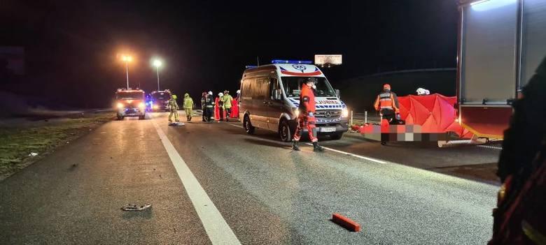 W wypadku na A1 w Malankowie zginęło dwoje mieszkańców Grudziądza
