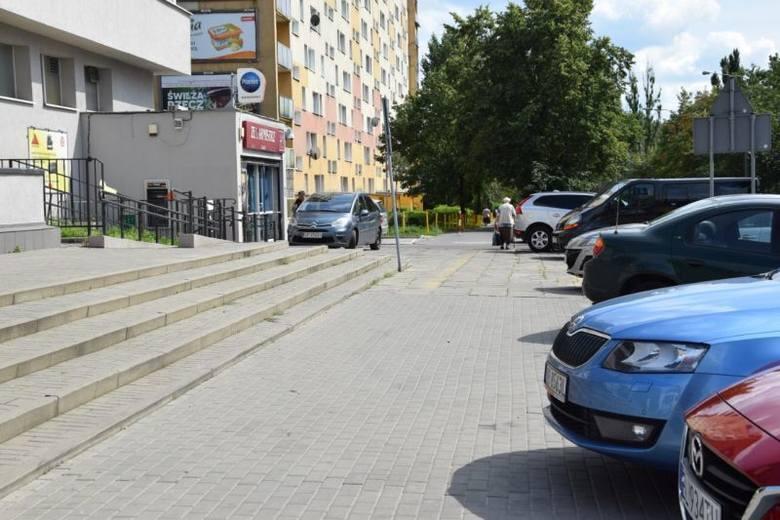 Złodziej uciekał chodnikiem ul. Tatrzańskiej