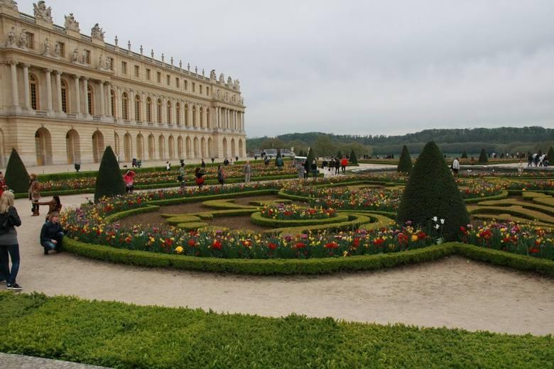 Ogrody przylegają do Wersalu