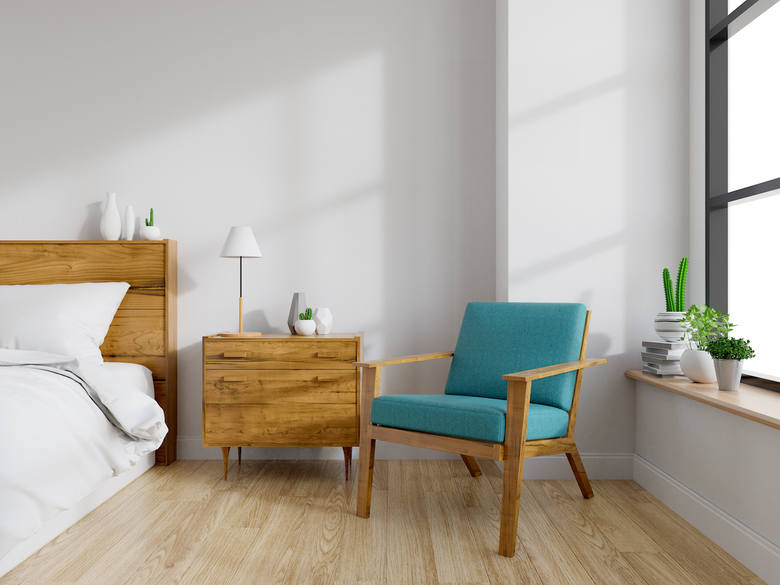 Mocne kolory podkreślą naturalne elementy w mieszkaniu.