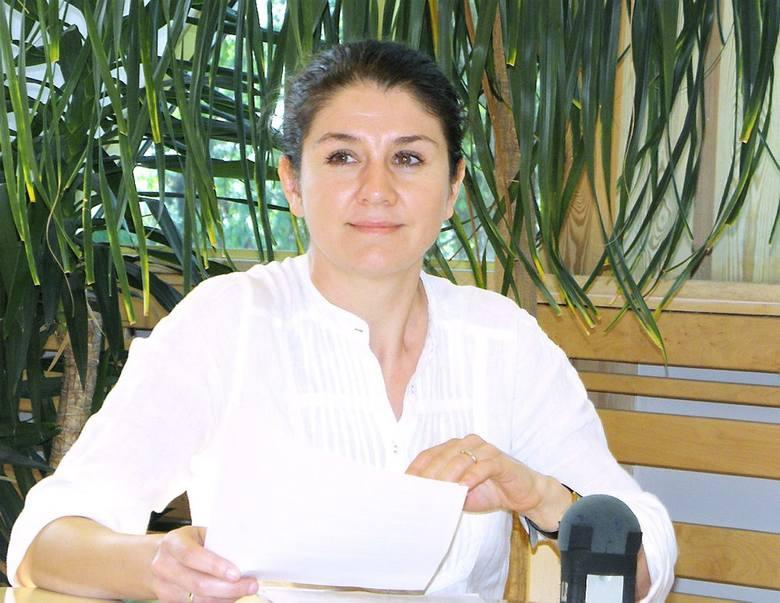 Justyna Rząska jest bardzo zadowolona z pozyskania grantu i z nagrody