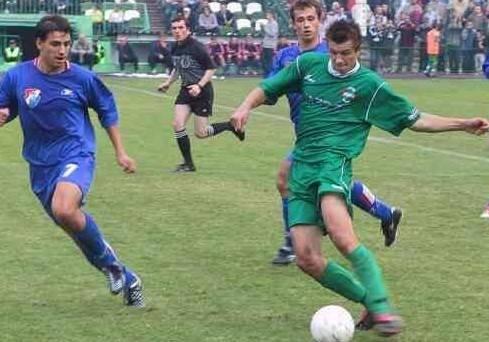 W Radomiaku Radom grało kilkuset piłkarzy (na zdjęciu Konrad Gołoś). Co obecnie robią byli futboliści zielonych? Jedni zostali trenerami, agentami piłkarskimi,