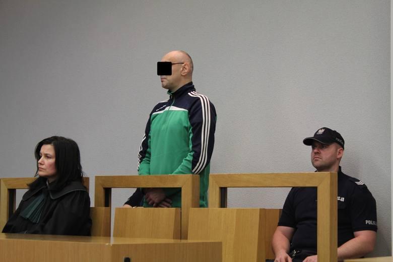 Oskarżony Paweł K. z obrońcą Katarzyną Dudzińską