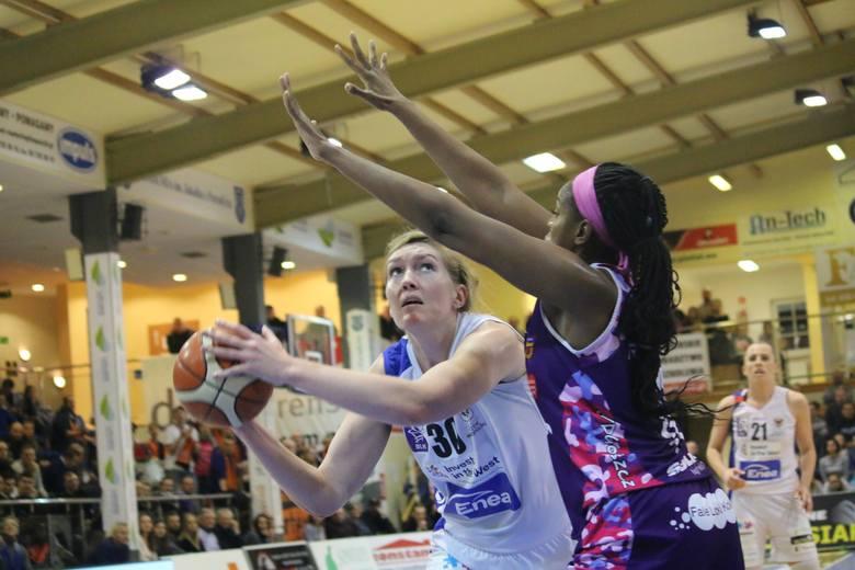 InvestInTheWest AZS AJP Gorzów przegrał z Artego Bydgoszcz 60:72 w sobotniej (3 marca) 21. kolejce Energi Basket Lidze Kobiet. Zobacz, jak wyglądały