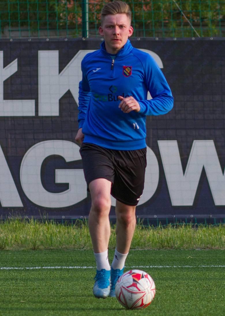 Trzecia liga. ŁKS Probudex Łagów trenuje. Wojciech Śmiech został dyrektorem sportowym beniaminka [ZDJĘCIA, WIDEO]