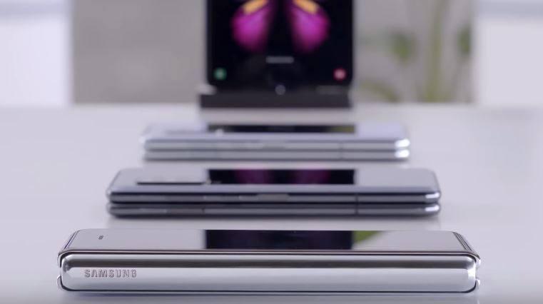 Po Galaxy Fold Samsung pracuje już nad nowymi smartfonami ze składanymi ekranami