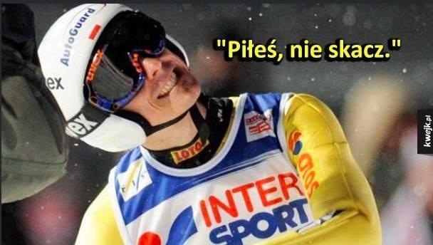 TOP 20 najśmieszniejszych memów o polskich skoczkach narciarskich. Zobacz!