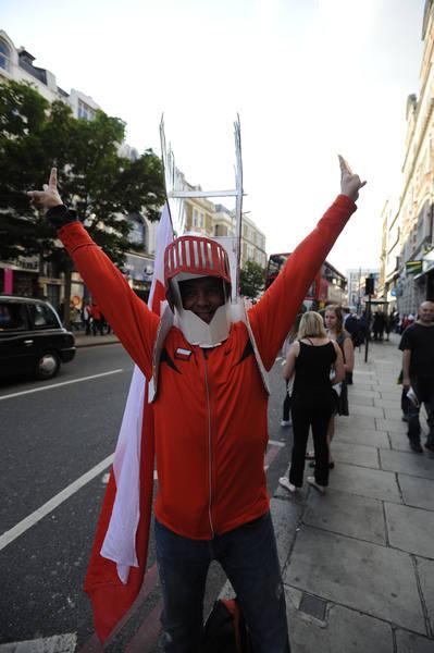 Kibice podczas Igrzysk Olimpijskich w Londynie [zdjęcia]