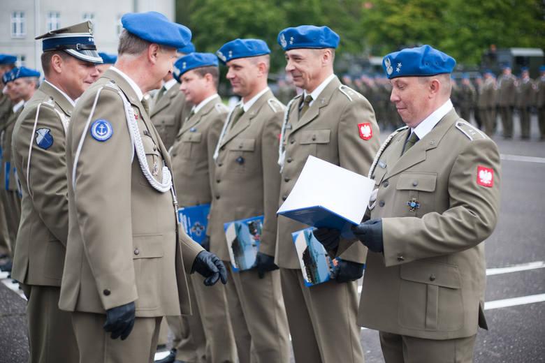 Choć Święto Wojska Polskiego dopiero w poniedziałek to już dzisiaj (piątek) wspólnie obchodziła je 7. Brygada Obrony Wybrzeża i Batalion Ochrony Bazy