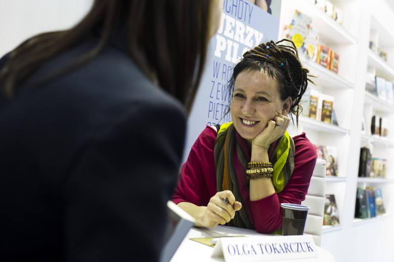 Olga Tokarczuk z Man Booker Prize