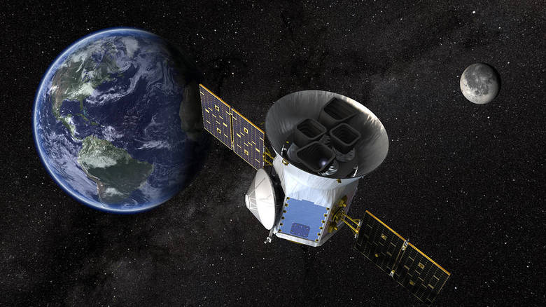 TESS ma za zadanie przeglądanie nieba w poszukiwaniu planet krążących wokół jasnych gwiazd w naszym najbliższym sąsiedztwie.