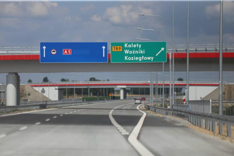 Całkowity zakaz dla tirów na A1 Pyrzowice - Częstochowa