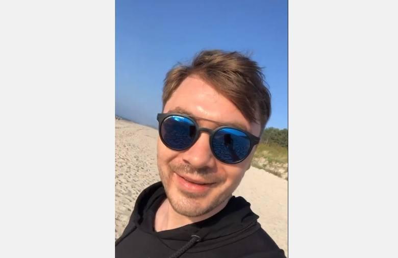 Po aferze w jednym z warszawskich sklepów Daniel Martyniuk imprezuje widocznie nad morzem. Na ostatnim filmie syn Zenona z piwem w ręku śpiewa jedną