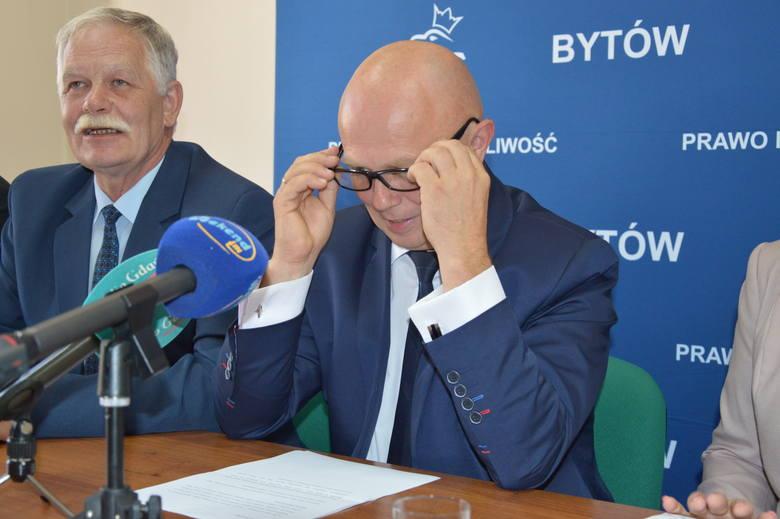 Leszek Szymczak oficjalnie kandydatem PiS na burmistrza Bytowa.