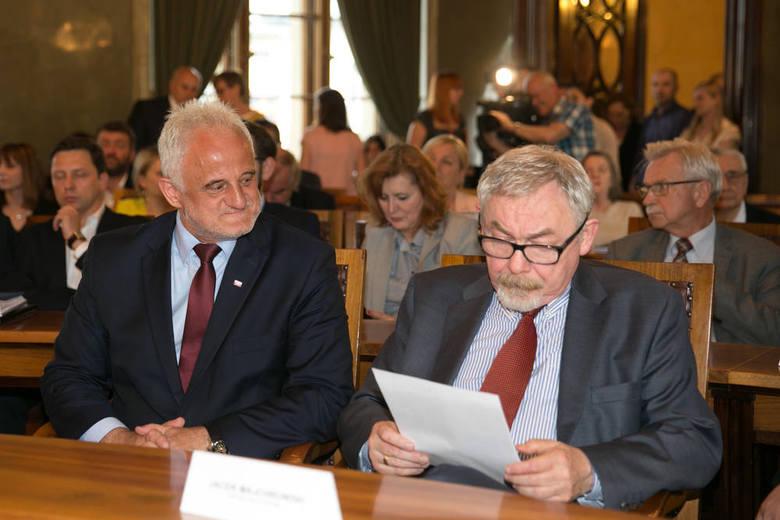 Wojewoda Józef Pilch i prezydent Jacek Majchrowski gotowi do ŚDM