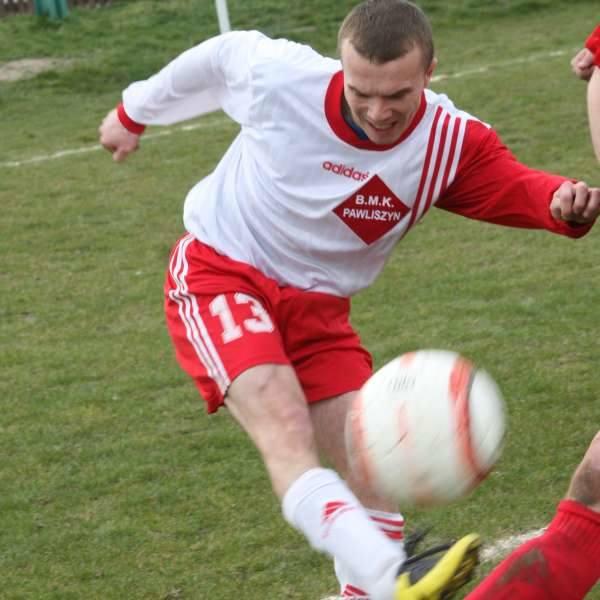 Marek Suchocki potrzebował trzech minut, aby zdobyć gola.
