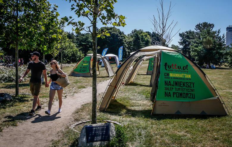 Rodzinne Gry Parkowe na Orientację w Parku Reagana w Gdańsku w niedzielę 19.07.2020 [zdjęcia]