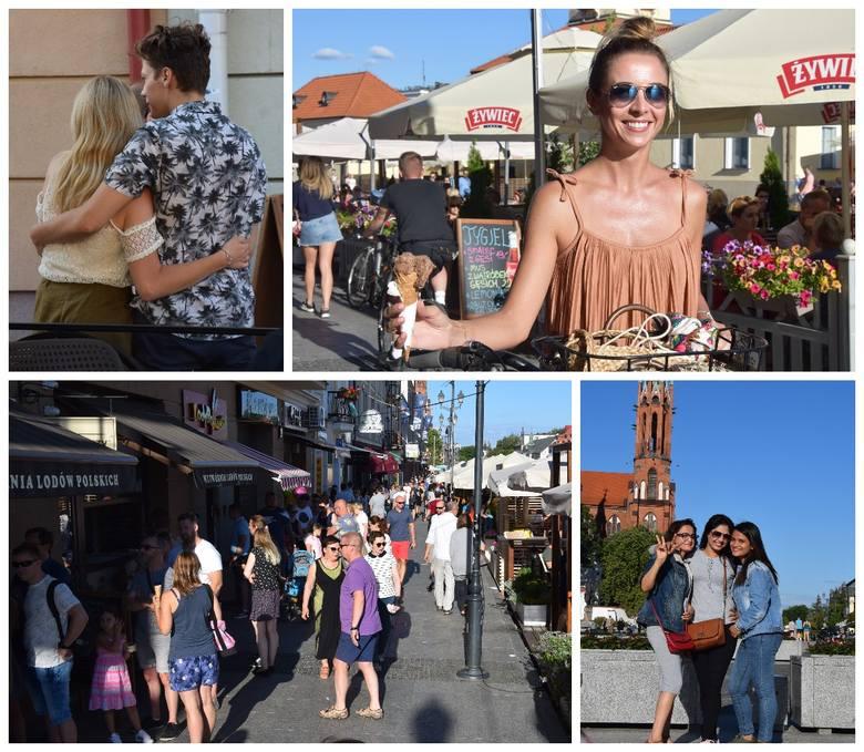 Rynek Kościuszki w końcówkę weekendu odżył. Tak białostoczanie korzystali z ciepłej niedzieli. Znajdziecie siebie lub swoich znajomych na zdjęciach?