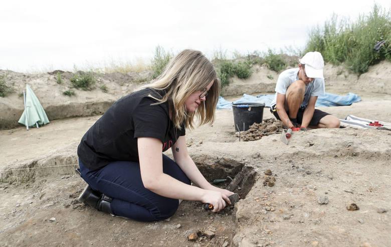 Wylicytował dla swojej córki dzień z archeologami w osadzie scytyjskiej w Chotyńcu.