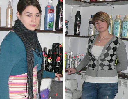 """Magdalena i Katarzyna w swoim """"królestwie piękności"""". Siostry z Buska prowadzą wspólnie hurtownię kosmetyczną."""
