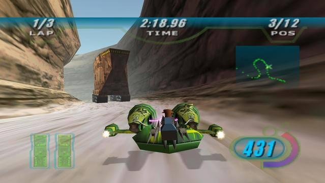 Gra, która towarzyszyła premierze Epizodu 1: Mrocznego Widma. O ile film był średnio udany, tak Racer pozytywnie zaskoczył. Do naszej dyspozycji oddano