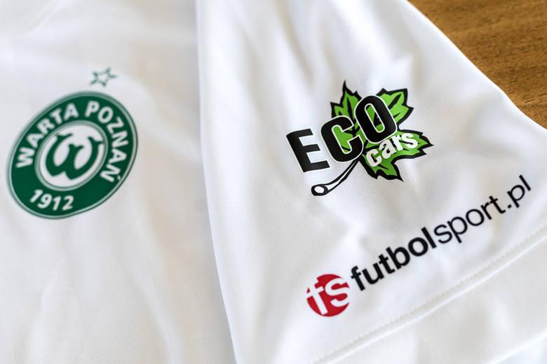 Nowy sponsor będzie miał swoje logo na koszulkach Warty Poznań już w niedzielnym meczu ze Śląskiem Wrocław