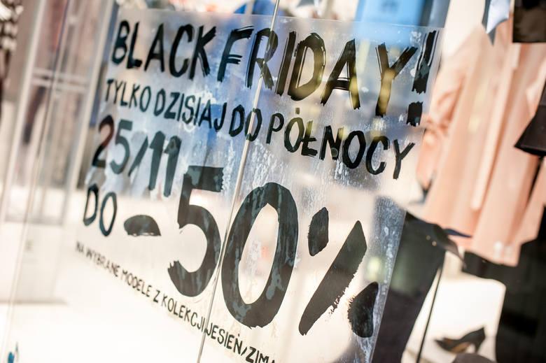 Black Friday 2018 w regionie. Jakie będą promocje w