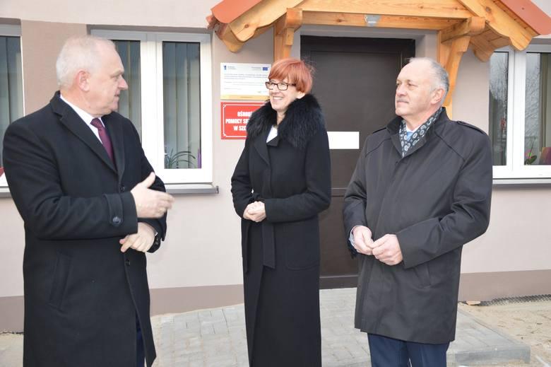 Nowa siedziba Ośrodka Pomocy Społecznej w Szczańcu