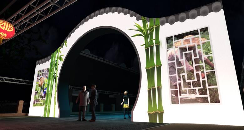 Tak w ramach Bella Skyway Festival 2019 będzie wyglądać toruńskie Chinatown. Efektowna brama stanie od strony Wałów gen. Sikorskiego.