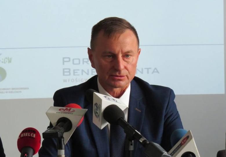 Prezes Wojewódzkiego Funduszu Ochrony Środowiska i Gospodarki Wodnej w Kielcach Ryszard Gliwiński.