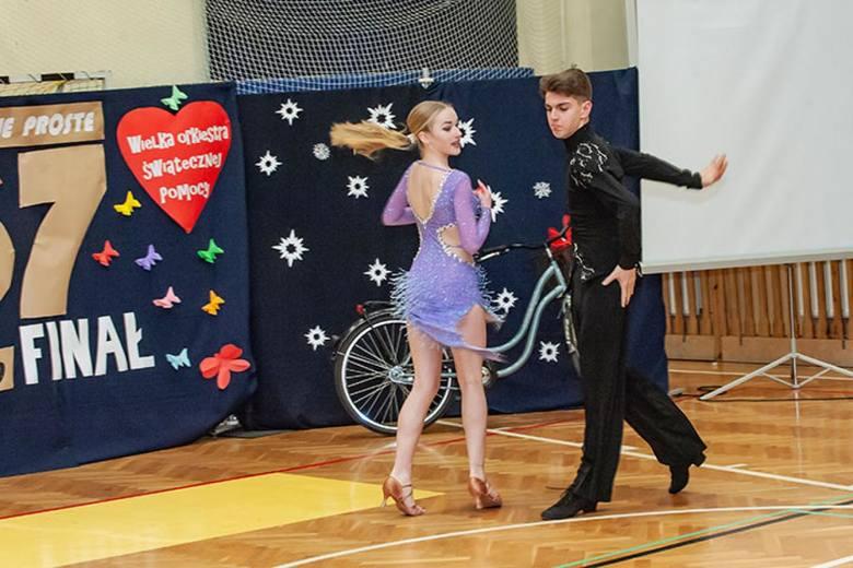Wśród gości finału WOŚP w Małej Nieszawce byli profesjonalni tancerze