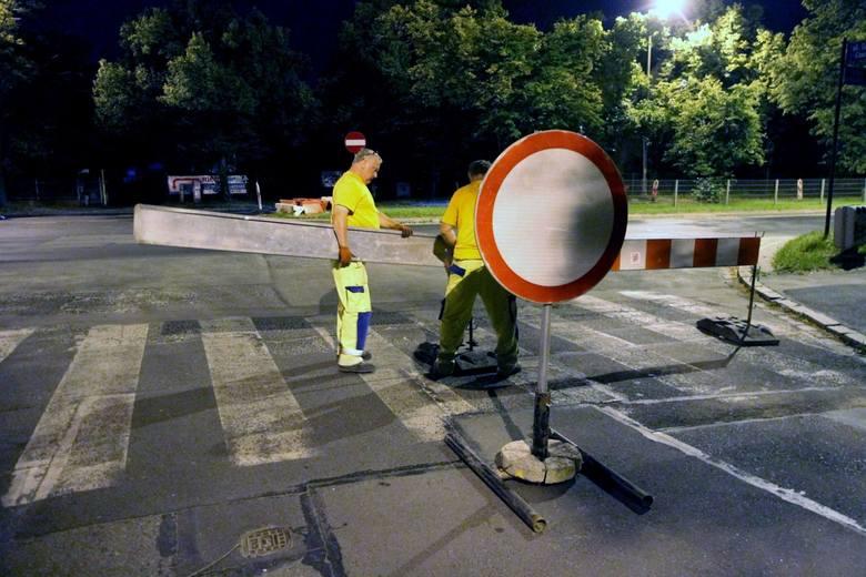 Renowacja kanalizacji deszczowej – wystąpią lokalne zwężenia jezdni. Planowany termin zakończenia: 2019-02-20
