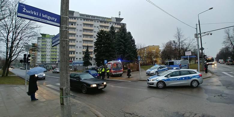 Piesza potrącona na przejściu przy Kusocińskiego w Radomiu.