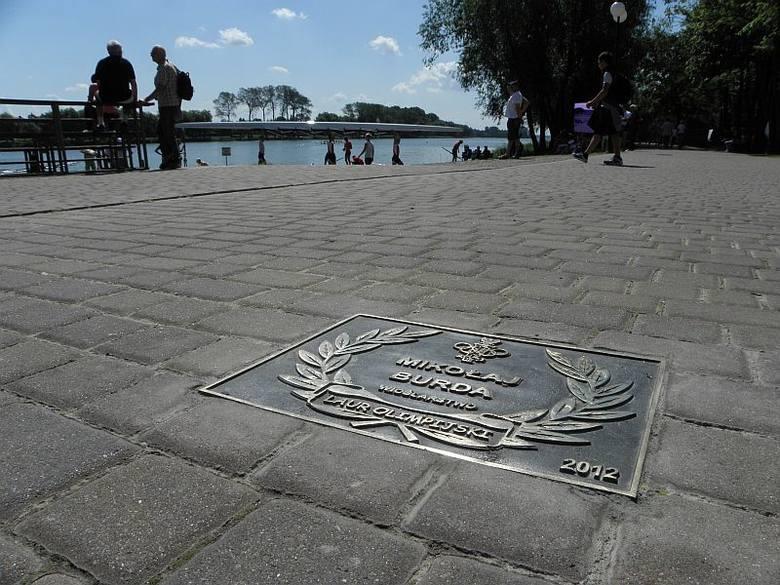W Kruszwicy otwarto Aleję Olimpijską [zdjęcia]