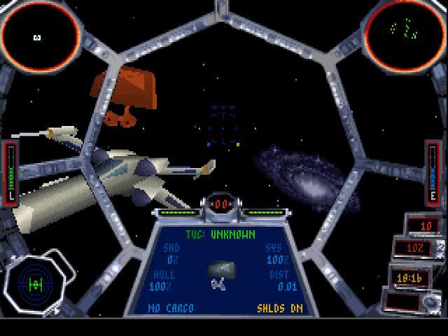 Sequel legendarnego symulatora lotów kosmicznych X-Wing, który wyszedł w 1993 roku. Jak sam tytuł gry wskazuje, tym razem wcielaliśmy się w pilota Imperium