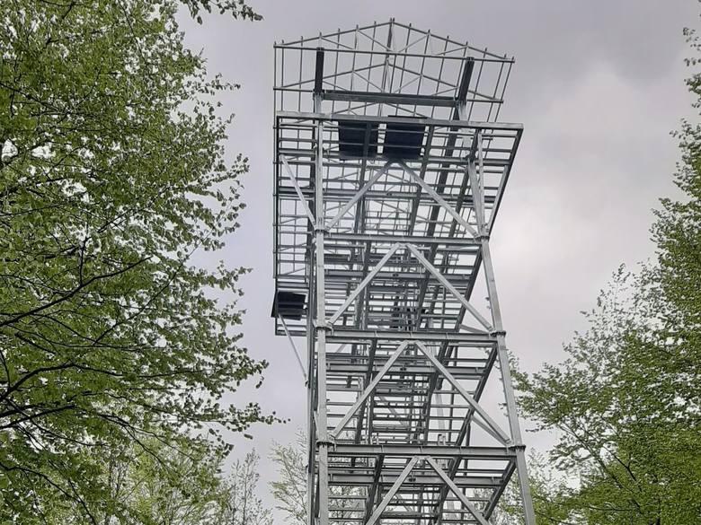 Wieża na Górze Siemierzyckiej.