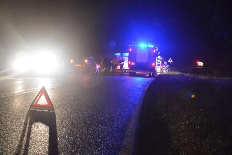 Groźny wypadek na DK25 w miejscowości Nowa Wieś.