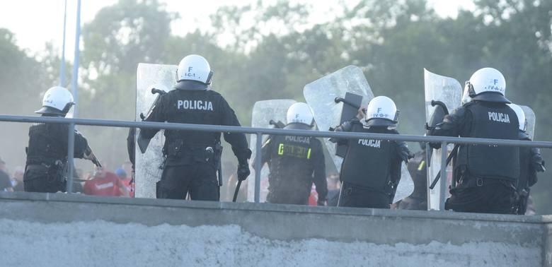 Policja o łódzkich kibicach i derbach: jesteśmy gotowi na wszystko
