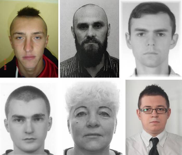 Publikujemy osoby, za którymi Prokuratura Okręgowa w Rzeszowie wydała listy gończe. Wszyscy ukrywają się przed wymiarem sprawiedliwości od 2018 roku