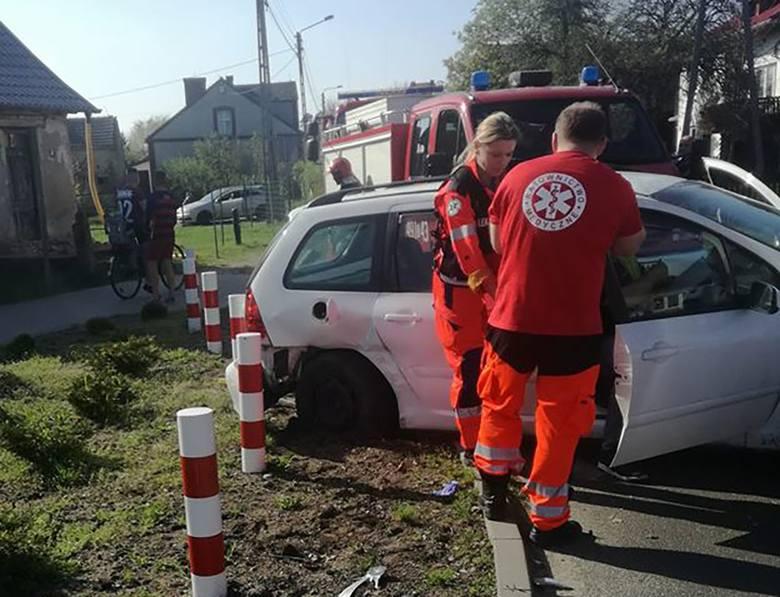 Do wypadku doszło w czwartek, 19 kwietnia, w Łubiance na trasie z Myśliborza do Barlinka. Kierujący peugeotem wymusił pierwszeństwo na kierowcy bmw.