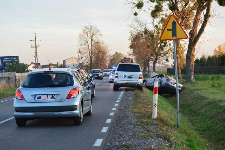 Wypadek na DK 53 w Dylewie, 18.10.2019