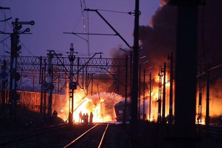 8 listopada 2010 r. w Białymstoku zderzyły się dwa pociągi towarowe, co spowodowało wielki pożar i straty sięgające 23 mln zł.