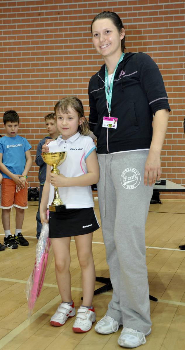 Brak sponsora może zakończyć karierę młodziutkiej tenisistki Dominiki Podhajeckiej [WIDEO, FOTOSTORY]