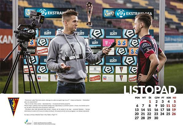 Świetnie spisali się autorzy nowego kalendarza Pogoni Szczecin. Piłkarze występują w nich w innych rolach niż zazwyczaj. <br /> <br /> Ostatnio sporo mówiło się o nowym kalendarzu Pogoni Baltica Szczecin. Ten, mówiąc łagodnie, nie udał się klubowi. Baltica jednak szybko wycofała się z pomysłu i...