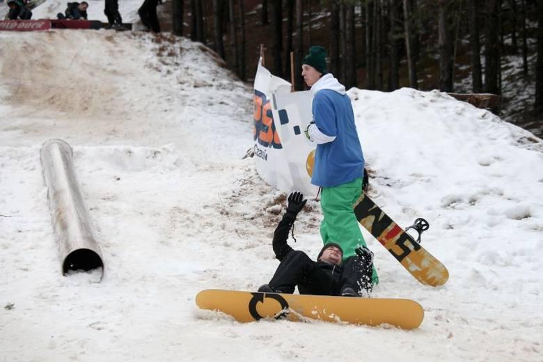 Snowpark Ogrodniczki. Kompilacja upadków (zdjęcia, wideo)