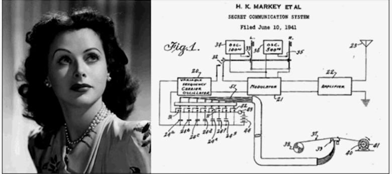 Hedy Lamarr, jedna z gwiazd kina amerykańskiego lat 40. i 50., była nie tylko piękną kobietą, ale też wybitnym naukowcem