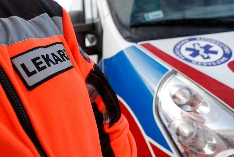 Zdjęcie ilustracyjne. 9-latek potrącony przez autobus w Grudziądzu trafił z obrażeniami głowy do szpitala.